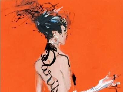 Ilustración de David Downton