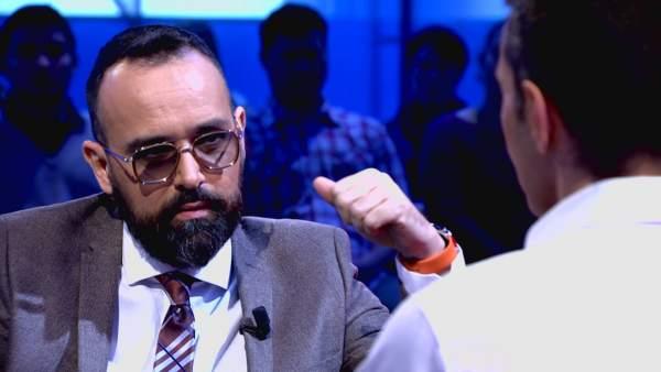 Risto Mejide y Jesús Vázquez