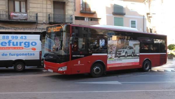 Autobús urbano de Cuenca