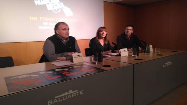 Miguel Izu, Susana Rodríguez y Enrique Martínez
