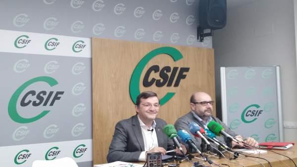 Benito Román y Miguel Borra presentan los objetivos del sindicato para 2019