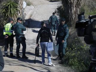 Rescate niño caído en un pozo en Málaga