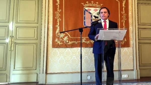 El alcalde de Salamanca en el balance de actividades del centenario de la USAL