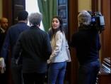 Irene Montero Congreso Junta de Portavoces enero