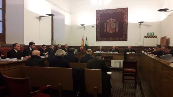 Primera sesión del juicio por la trama del Catastro de Granada