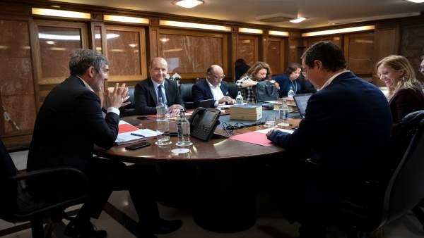 Consejo de Gobierno del Ejecutivo canario este lunes, 14 de enero