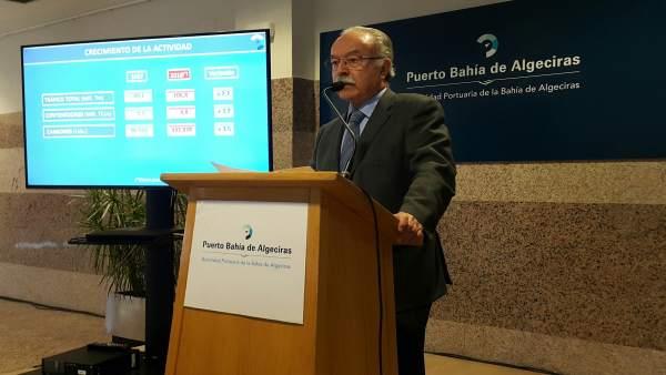 Manuel Morón, presidente de la Autoridad Portuaria de Algeciras