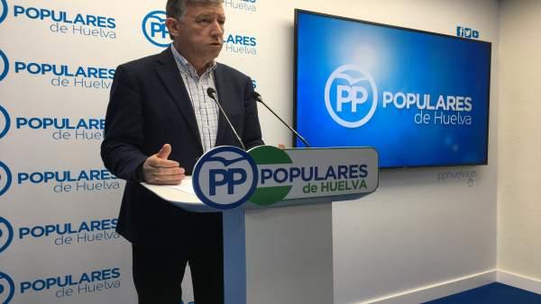 El diputado nacional del PP, Carmelo Romero.