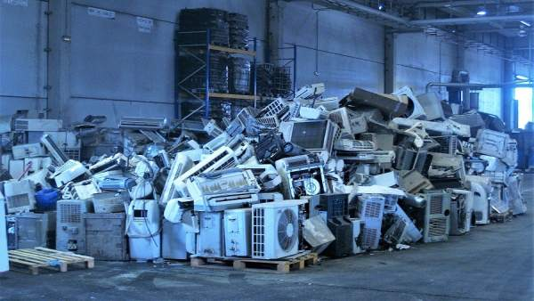Reciclaje de aparatos eléctricos