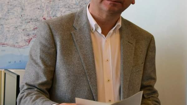 Francisco Conejo, portavoz del PSOE en la diputación de Málaga