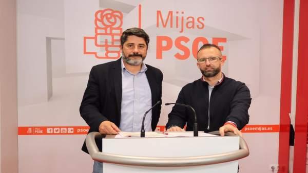 PSOE de Mijas, Roy Pérez y Nicolás Cruz