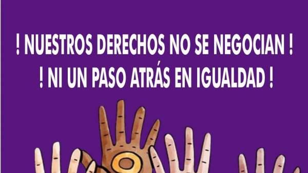 Cartel concentración en Mérida