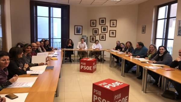 Reunión Socialistas de Mallorca