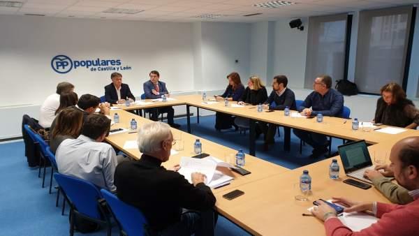Reunión del Comité de Campaña, 14-1-19
