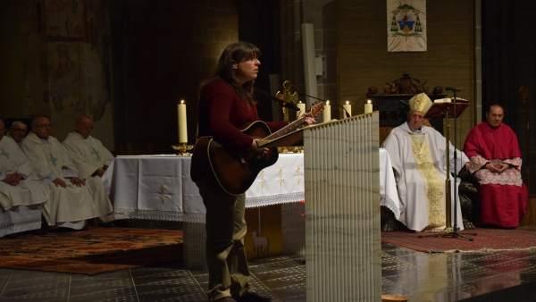 El obispo de Tarazona comienza su visita pastoral a una parte de la diócesis