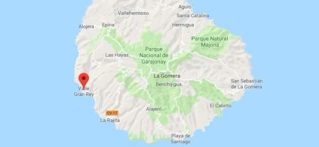 Valle Gran Rey, La Gomera.
