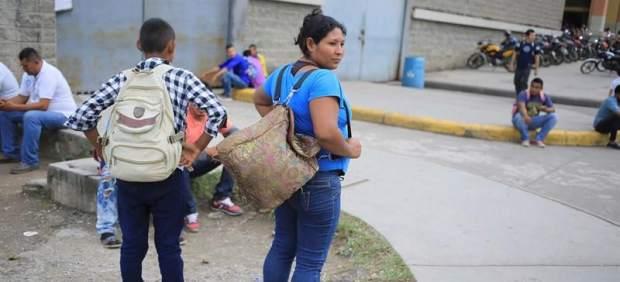 Nueva caravana de migrantes hondureños