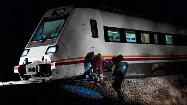 Descarrila un tren de la línea Madrid-Zafra