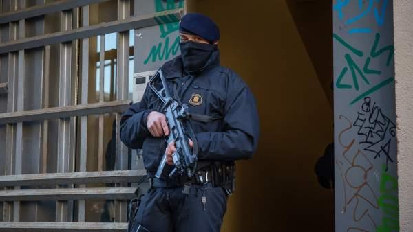 Operación de Mossos d'Esquadra contra el yihadismo