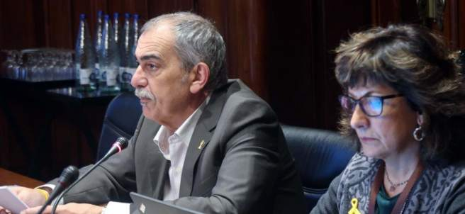 El comisionado del 155, Pau Villòria.