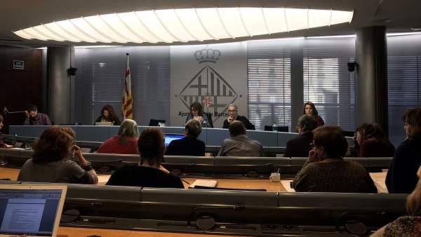 Comisión de Derechos Sociales, Cultura y Deportes de Barcelona.