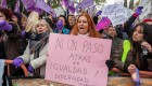 El PP protesta por el escrache de miles de feministas