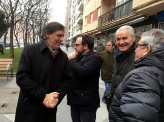 García Carbayo en el barrio Garrido, 15-1-19