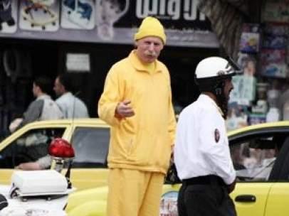 El hombre de amarillo de Alepo