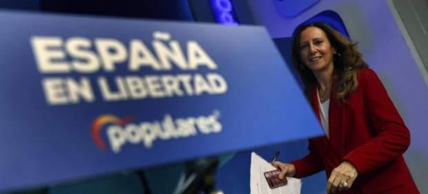 El PP presenta nuevo logo con la bandera de España como protagonista para la Convención Nacional