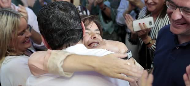Sáenz de Santamaría se reencontrará con Pablo Casado en la toma de posesión de Juanma Moreno