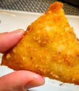 Croquetas triangulares