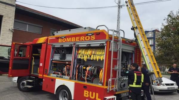 Dispositivo de bomberos de Motril (Granada)