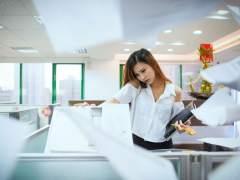 Fotocopiadora en la oficina