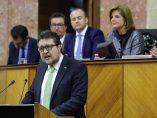 Serrano interviene en el Parlamento