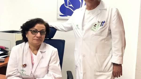 Enfermeros de las unidades de gestión clínica de Ginecología y Anestesiología