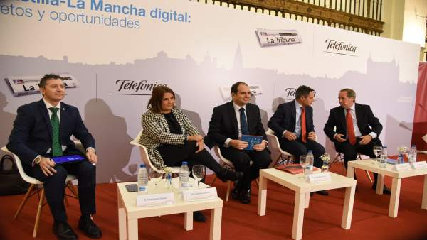 Desayuno informativo 'Castilla-La Mancha digital: retos y oportunidades