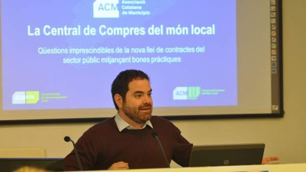 El presidente de la ACM, David Saldoni (Archivo)