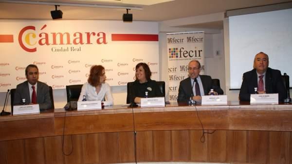 Patricia Franco en la Cámara de Ciudad Real