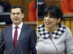 Moreno y Rodríguez, en el debate.