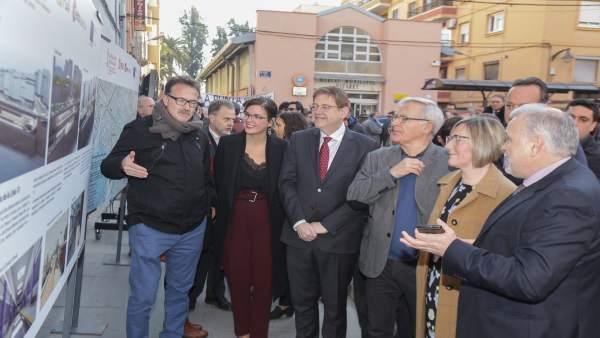 Presentación en Natzaret del inicio de las obras de la L-10 de Metrovalencia