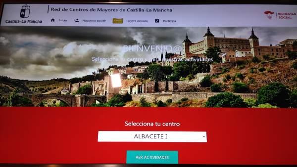 Web de Centros de Mayores de Castilla-La Mancha