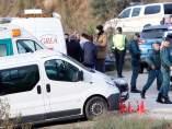 Familiares de Julen, el niño que cayó a un pozo en Totalán (Málaga)