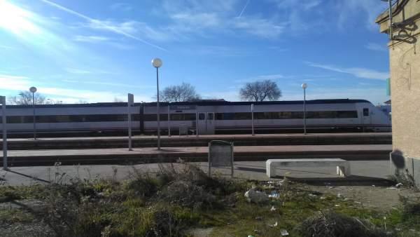 Tren descarrilado en Torrijos (Toledo)