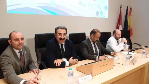 Consejero de Sanidad en Jornadas Biomedicina de Ciudad Real