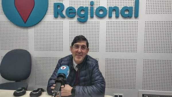 El consejero de Salud, Manuel Villegas, esta mañana en Onda Regional
