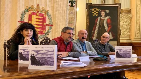Redondo, Pedruelo, Martínez Y Díez Presentan El Conde Pedro Ansúrez 16-1-19