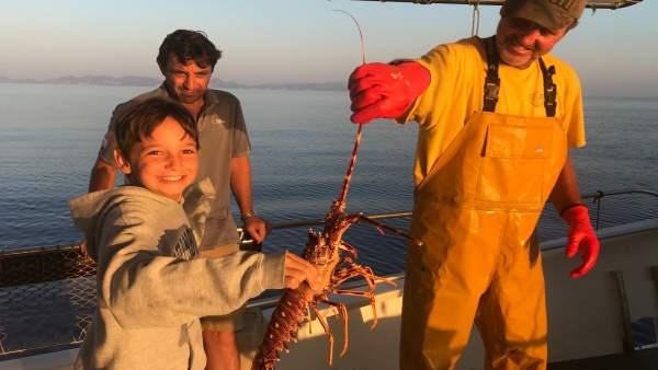 Excursión de 'pescaturismo'