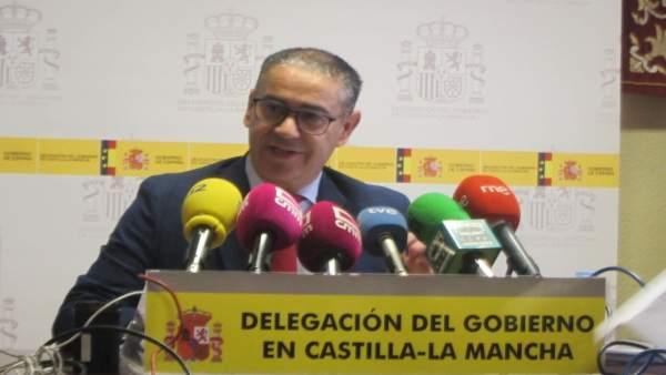 El delegado del Gobierno, Manuel González Ramos