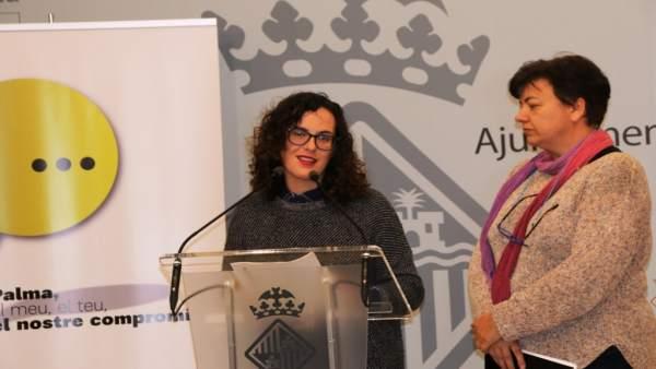 La regidora de Participación Ciudadana y Coordinación Territorial, Eva Frade
