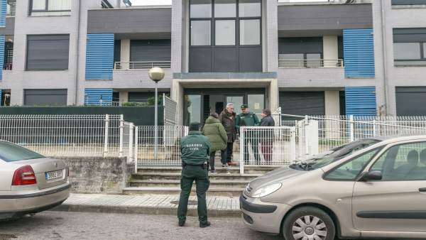 Operativo de la Guardia Civil en Polanco